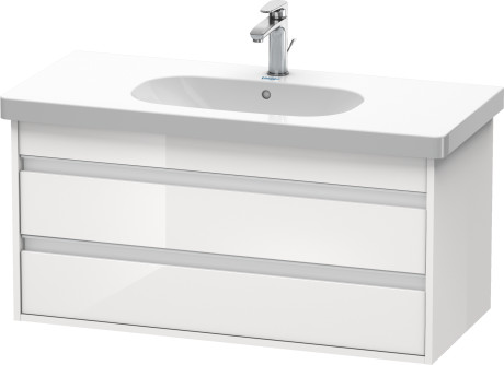 Duravit ketho muebles de ba o mueble lavabo suspendido - Mueble lavabo suspendido ...