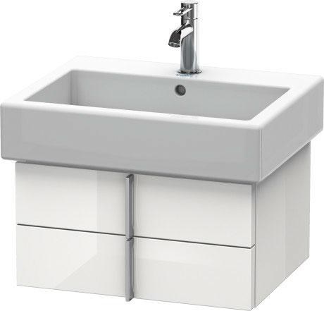 Duravit vero muebles de ba o mueble lavabo suspendido - Mueble lavabo suspendido ...