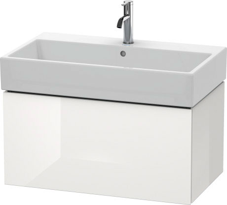 Duravit l cube muebles de ba o mueble lavabo suspendido - Mueble lavabo suspendido ...