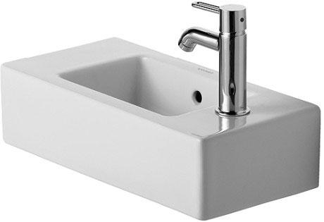 Duravit vero lavabos lavamanos 070350 de duravit for Lavamanos empotrados