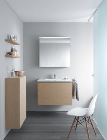 Duravit serie delos muebles de ba o de duravit - Muurdecoratie badkamer ...