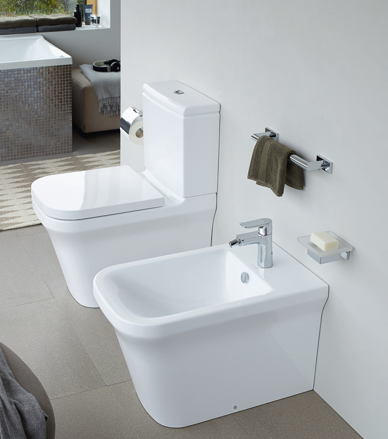 p3 comforts duravit. Black Bedroom Furniture Sets. Home Design Ideas
