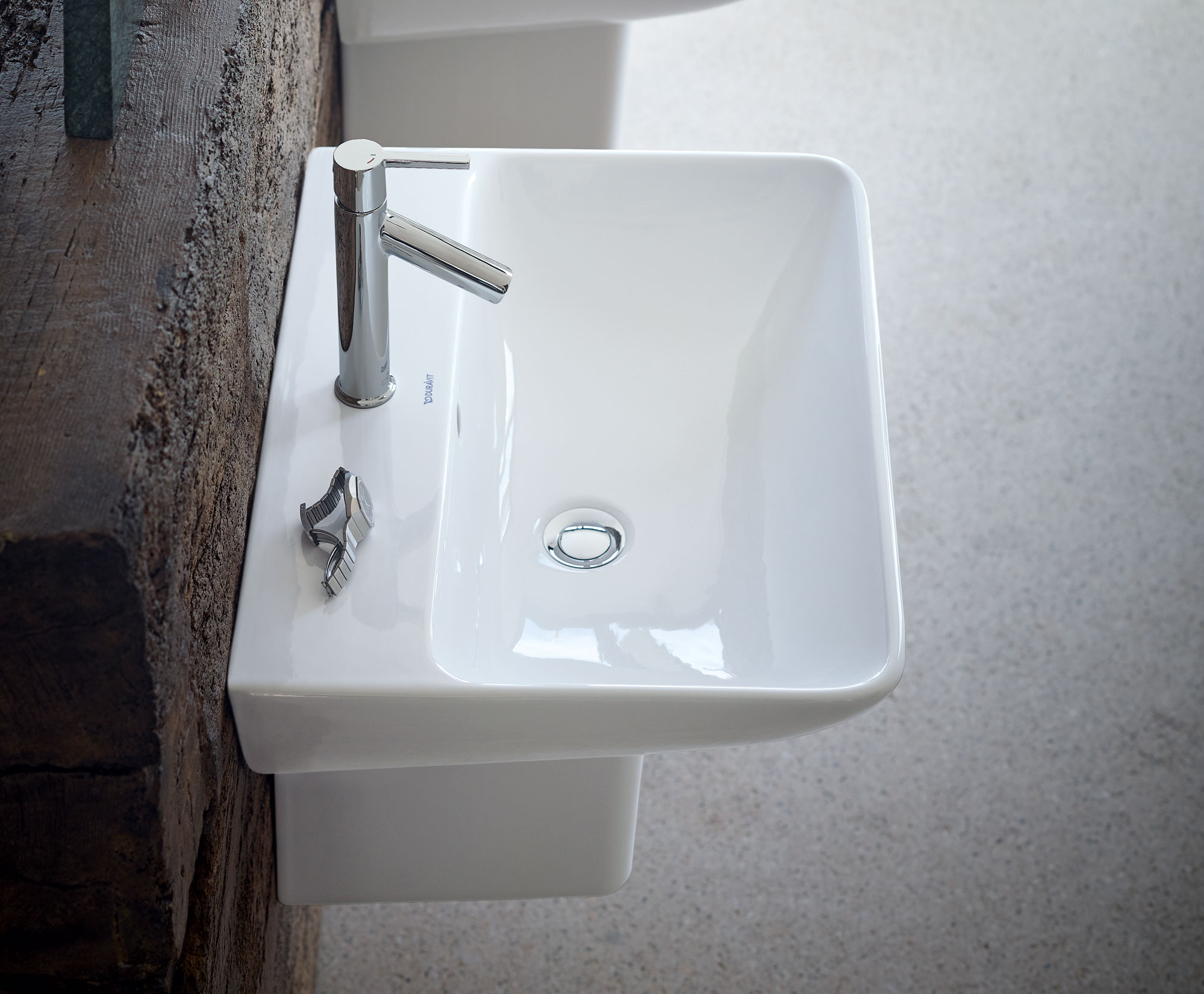Starck 2 lavabo 232355 duravit for Lavabo profundo